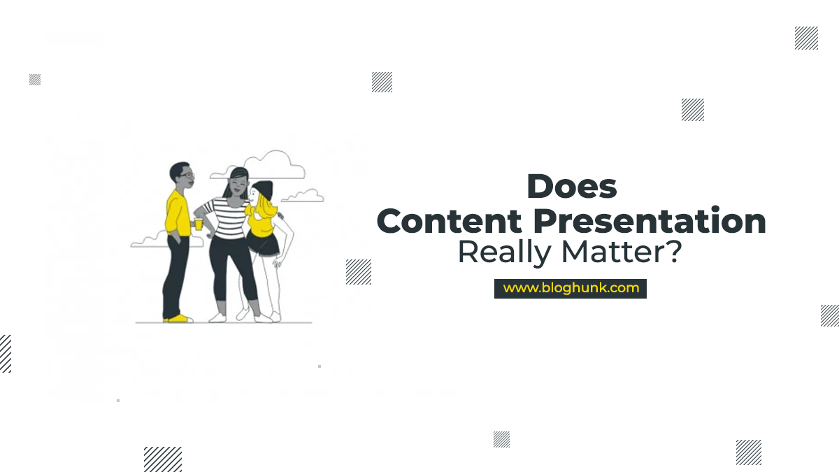 Does Content presentation really Matter? 1