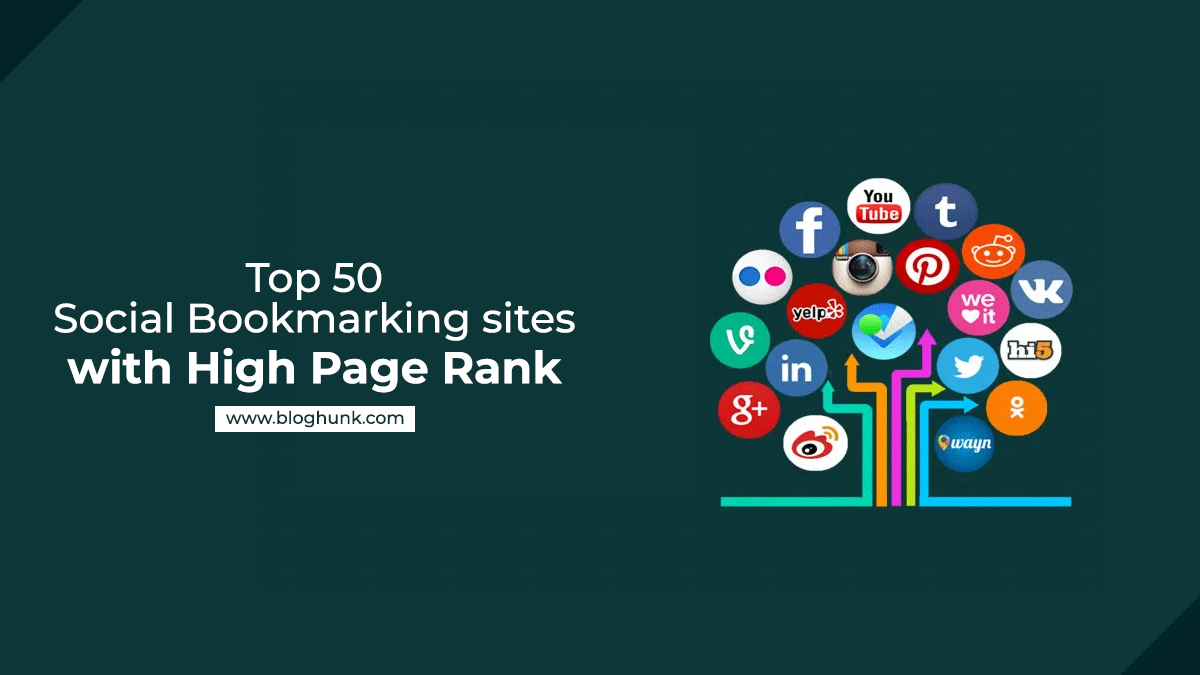 Top 50 Social Bookmarking sites with High Page Rank 4